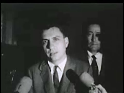 July 18, 1964 - Arlen Specter and Clayton Fowler after Jack Ruby