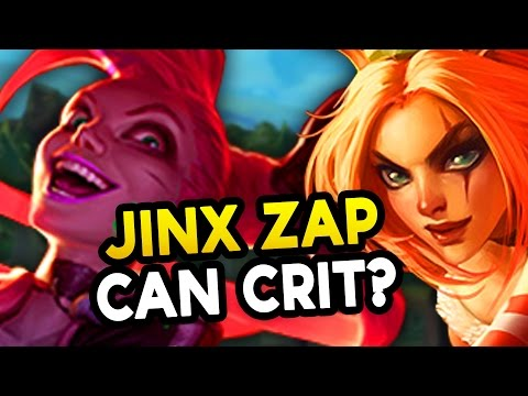 JINX ZAP CRIT? 15 SECOND KATARINA ULT? BIG 7.7 Changes (League of Legends)