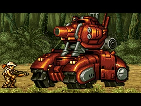 Metal Slug 5 - All Bosses (No Damage)