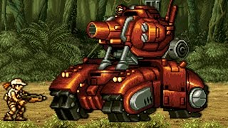 Metal Slug 5 - All Bosses (No Damage)