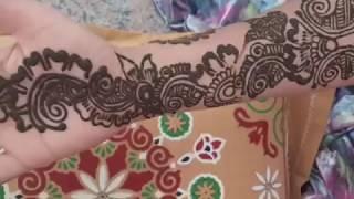 Simple Arabic mehndi design for hand|| New mehndi latest design