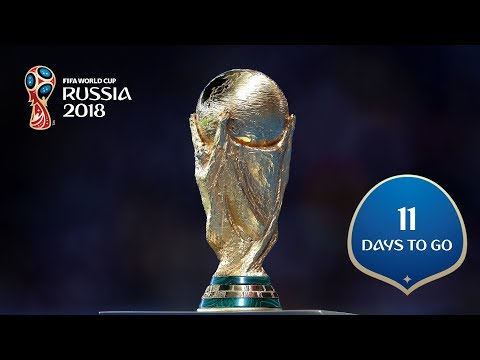 11 DAYS TO GO! Lifting The FIFA World Cup Trophy