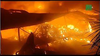 Cháy lớn ở công ty bóng đèn Rạng Đông | VTC14