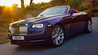 Rolls-Royce Dawn Worlds Most Silent Convertible: Roof Demo RR Wraith Convertible 2016 CARJAM TV