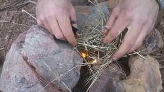 Doğada hayatta kalma teknikleri : Ateş Yakma-Magnezyum Çubuğu