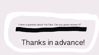 I have a question, can you guys answer it?