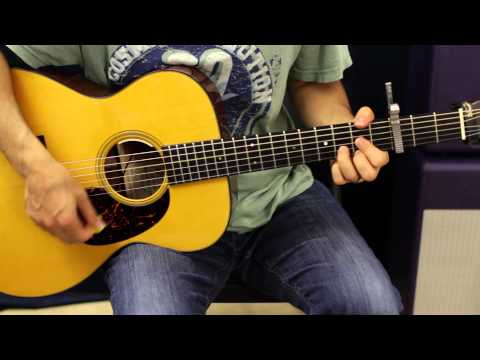Jason Aldean - Night Train - Song Tutorial - Guitar Lesson - How To Play