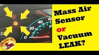Mass Air Flow Sensor Testing — BCMA