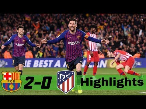 Barcelona Vs Atletico Madrid 2-0 All Goals & Extended Highlights 2019