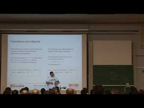 FOSDEM 2009 Scala - A Scalable Language