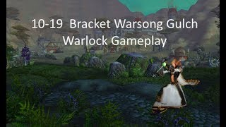 World of Warcraft 10-19 Warsong Gulch | Level 19 Warlock Twink