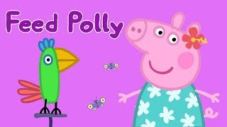 Peppa Pig App | Feed Polly Parrot! | Peppa Pig Theme Play | Game for Kids thumbnail