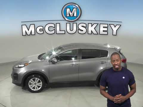 G12278TA Used 2018 Kia Sportage LX FWD 4D Sport Utility Gray Test Drive, Review, For Sale -