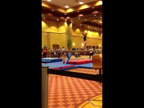 Macie Miller 2017 Gymnastics Level 10 Kurt Thomas Invitational 2013 Beam