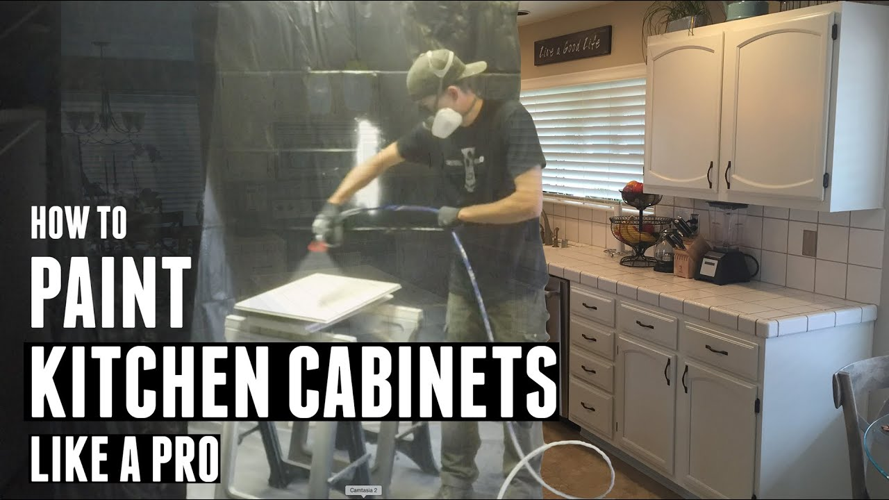 How To Paint Kitchen Cabinets Like a Pro  YouTube