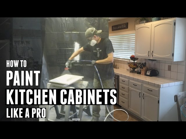 This Is How To Paint Kitchen Cabinets Like A Pro
