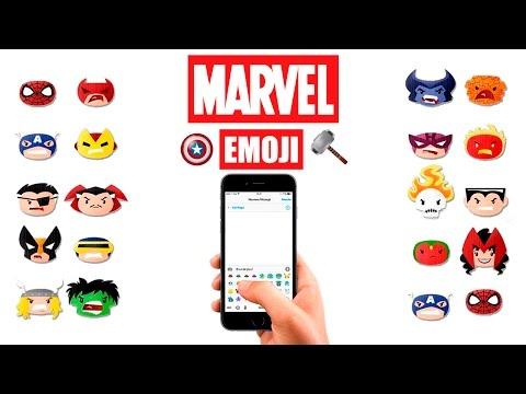 Marvel Emoji Keyboard for iOS & Android | Download Emoji - YouTube