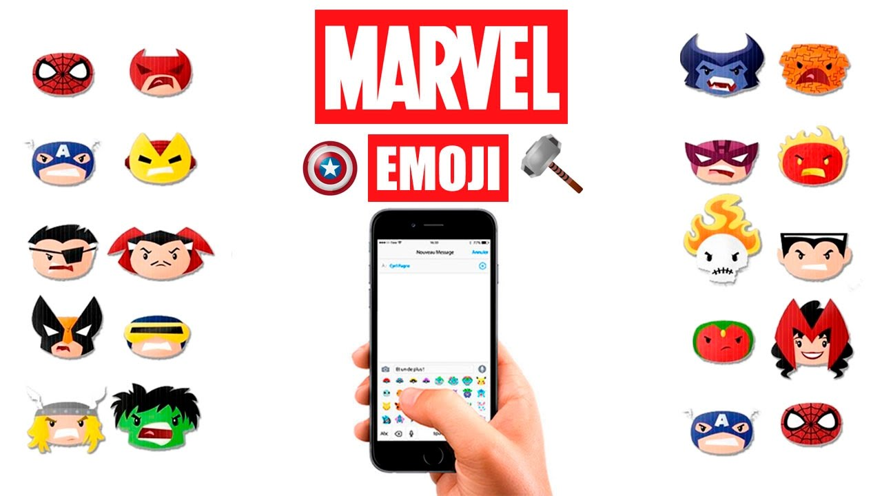 Avengers Emoji Copy And Paste