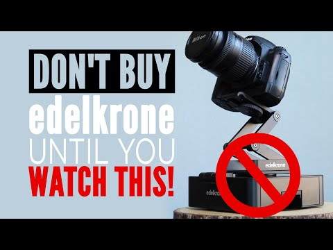 DO NOT BUY EDELKRONE!!