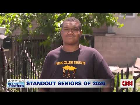 "CNN features Santee Education Complex student and teacher in their ""Class of 2020: In This Together"""