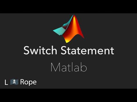 Switch Statement In Matlab