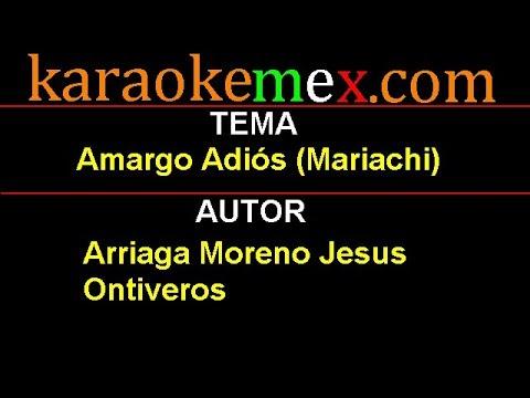 Letra Inspector - Amargo Adiós (mariachi)