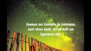 Jeesus armastab sind