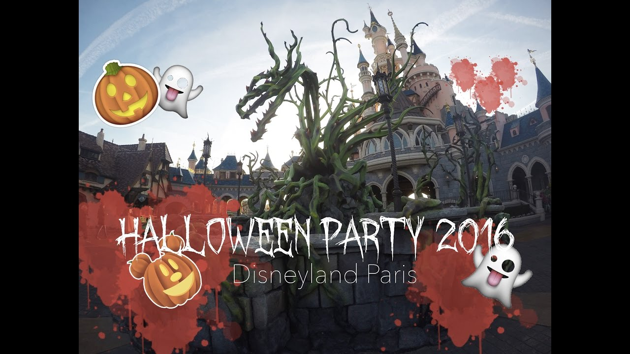 halloween party 2016 disneyland paris youtube. Black Bedroom Furniture Sets. Home Design Ideas