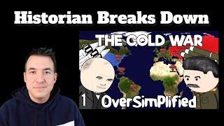 A Historian Reacts | Oversimplified - Cold War (Part 1)