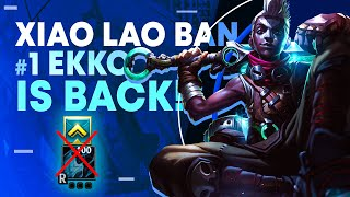 Don't level ult till Level 9??? #1 Ekko World Xiao Lao Ban is BACK!