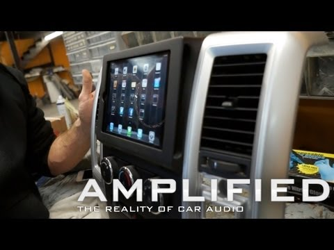 Amplified - IPad Mini Dodge Ram Install, Custom Fiberglass Sub Boxes EP 85.mov
