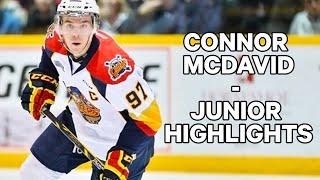 Connor McDavid Junior Highlights