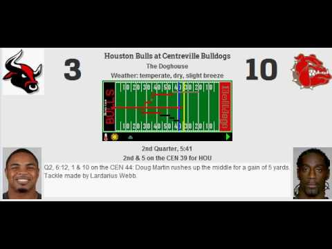 Week 1: Houston Bulls (0-0) @ Centreville Bulldogs (0-0)