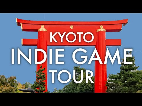 KYOTO INDIE GAME STUDIO TOUR - JAPAN VLOG #14