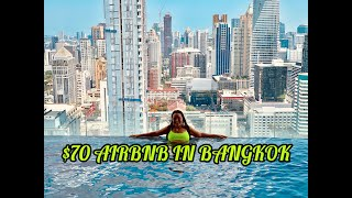Gambar cover WHAT $$70 CAN GET YOU IN BANGKOK | Thailand airbnb | Luxury