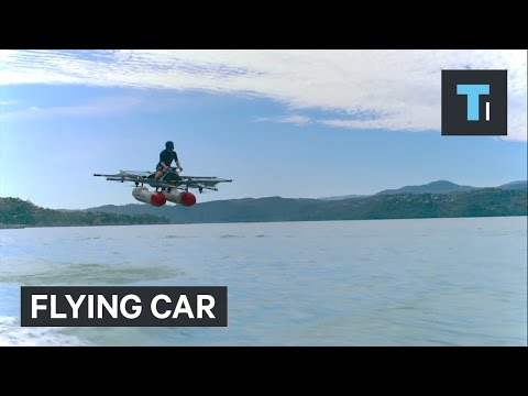 The newest flying car is backed by Larry Page