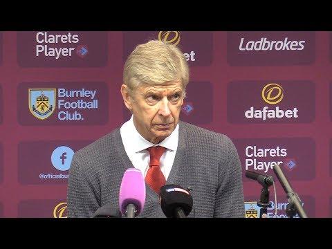 Burnley 0-1 Arsenal - Arsene Wenger Post Match Press Conference - Premier League #BURARS