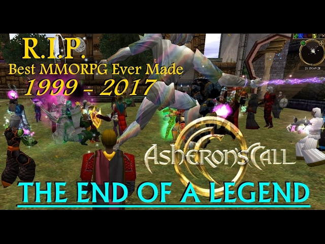 Asheron's Call : The End Of A Legend - My Last Words (And Sniffles) In The Final Moments
