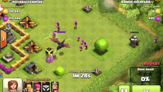 Clash of clans bug(Bug Clash of Clans)Dragon Breath(Sopro do Dragão)
