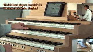 Indian rhythms in organ improvisation