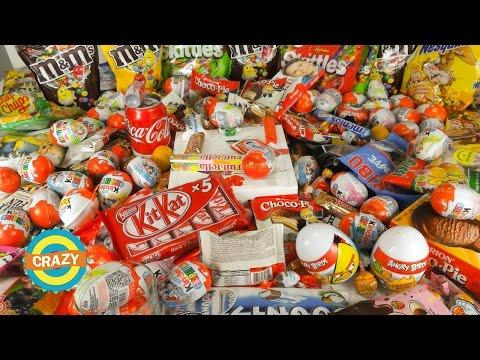 А lot of candy  Много сладостей и конфет
