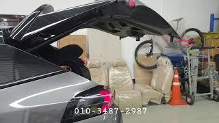 뉴 푸조 2008 suv 전동트렁크 시공