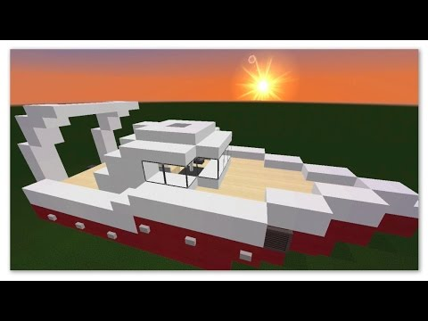 minecraft tuto comment faire un bateau youtube. Black Bedroom Furniture Sets. Home Design Ideas