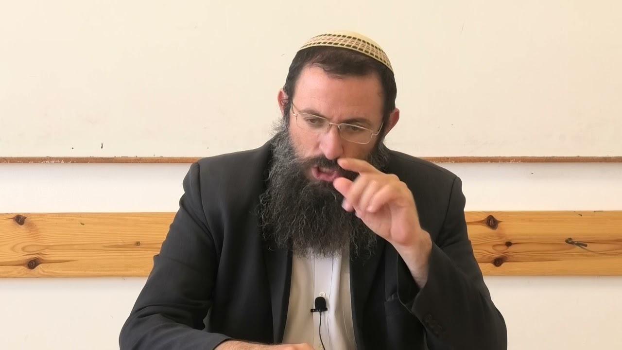 הקדמה להלכות מוקצה 2. הרב אריאל אלקובי שליט''א