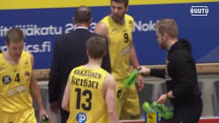 4th quarter BC Nokia highlights | vs. Vilpas 13.11.2020