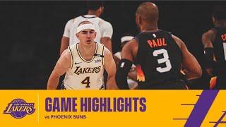 HIGHLIGHTS | Alex Caruso (17 pts, 8 ast, 3 stl) vs Phoenix Suns
