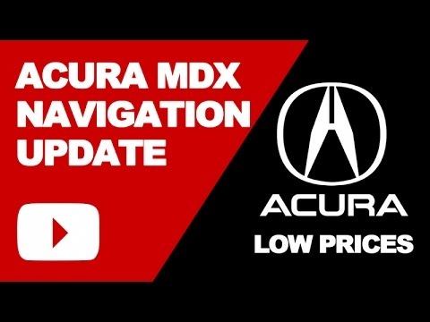 Acura MDX Navigation Update DVD 2017: Low Price GPS Maps