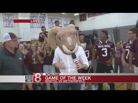 """Bristol Central High School gets ready for the """"Game of the Week"""""""