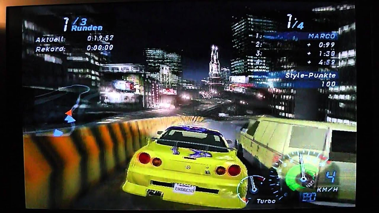 need for speed underground stadium german ps2 hd youtube. Black Bedroom Furniture Sets. Home Design Ideas