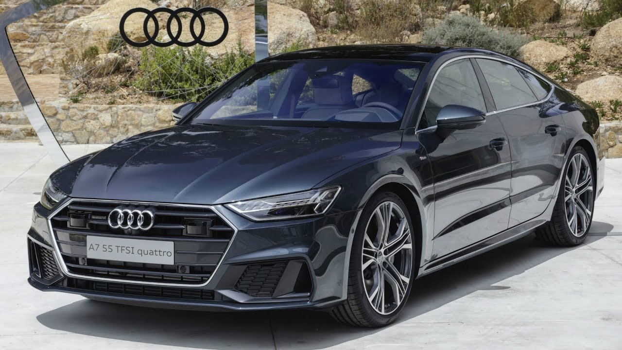 2018 audi a7 sportback 55 tfsi quattro sporty face of audi in the luxury class youtube. Black Bedroom Furniture Sets. Home Design Ideas